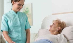 Servicios de compañía en hospitales y centros residenciales